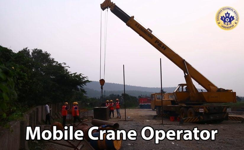 Mobile Crane Operator Course